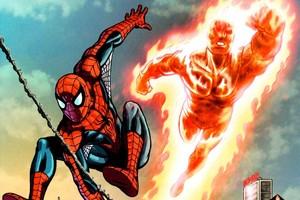 Spider-Man Human Torch Marvel Comics