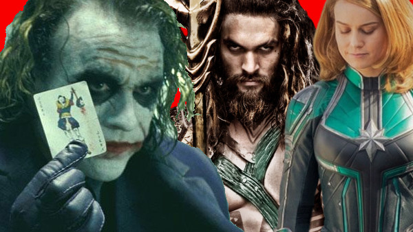 Joker Aquaman Captain Marvel