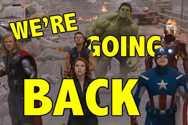 Avengers Back