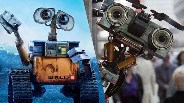 WALL E Short Circuit
