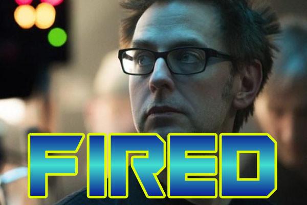 James Gunn FIred