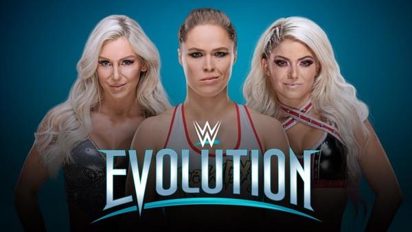 WWE Evolution Banner