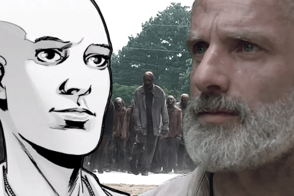 The Walking Dead Rick Alpha