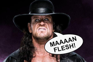 Undertaker Man Flesh
