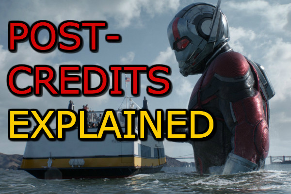 Ant Man And The Wasp Post Credits