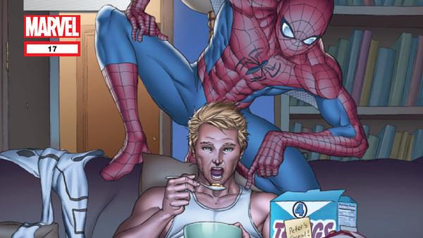 FF 17 Spider-Man Human Torch