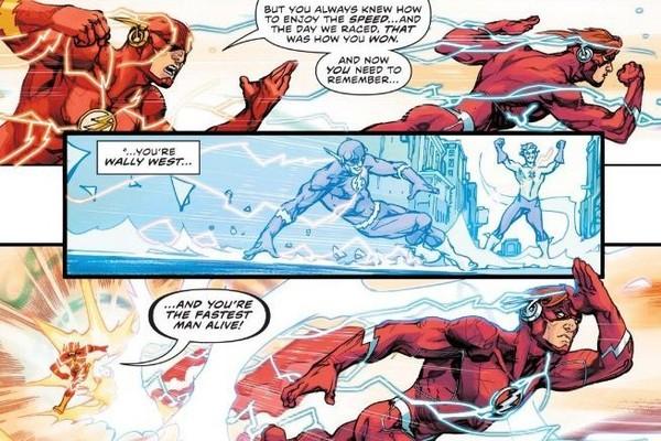 Flash Wally Barry Race