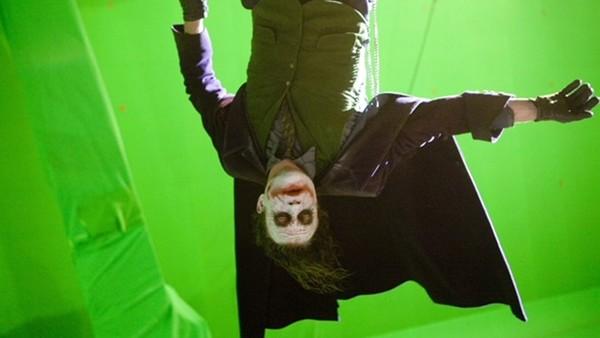 Dark Knight Behind The Scenes Joker Green Screen