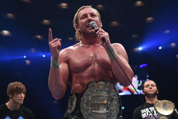 Kenny Omega Wins IWGP Heavyweight Championship