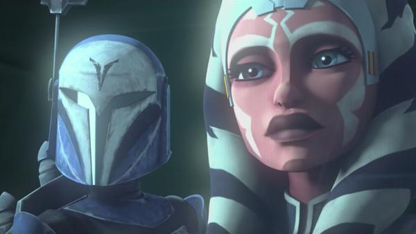 Star Wars The Clone Wars Bo-Katan Ahsoka