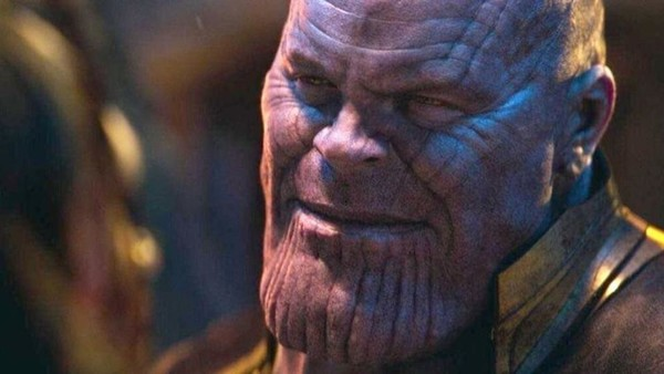 Thanos Smile Avengers Infinity War