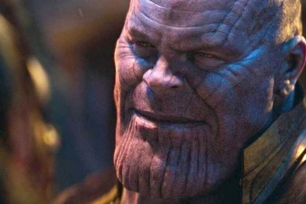 Thanos Smile Avengers Infinity War