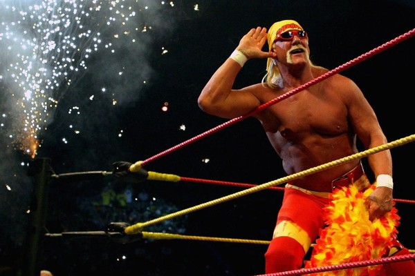 Hulk Hogan you wot mate