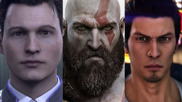 Detroit Become Human God Of War Yakuza 6