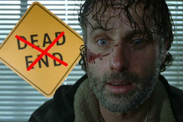 The Walking Dead - Rick Grimes Dead End