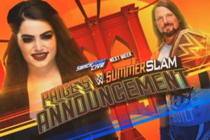 Paige AJ Styles