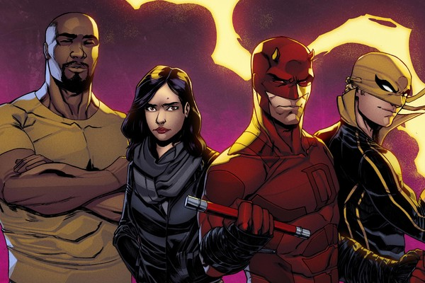 film comics tv defenders