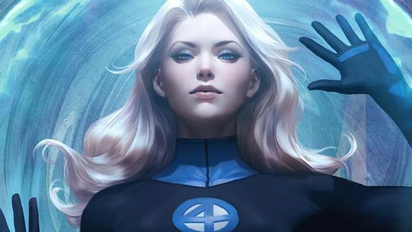 Fantastic Four Sue Storm Costume