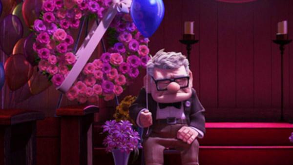 Up Pixar Funeral