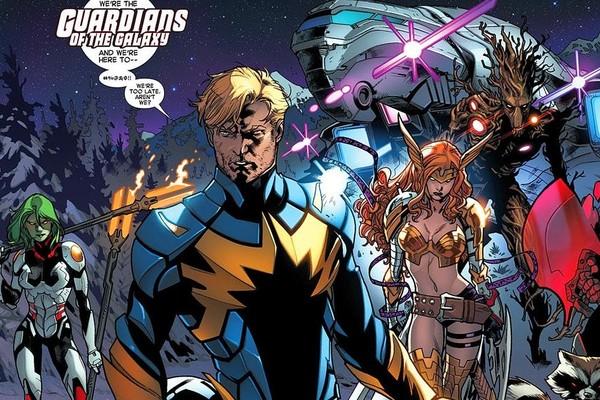 comics MCU avengers
