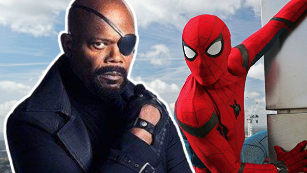 Nick Fury Spider Man