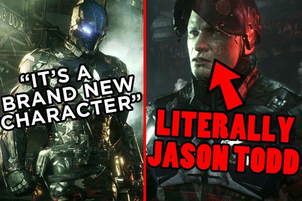 Batman Arkham Knighgt Jason