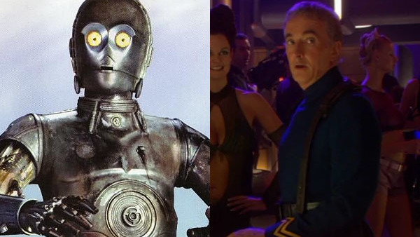 10. Anthony Daniels As Dannl Faytonni in Attack of the Clones.