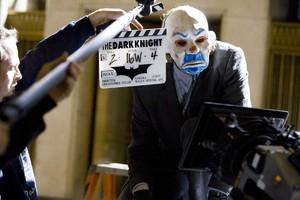 Dark Knight Behind The Scenes Clown Mask