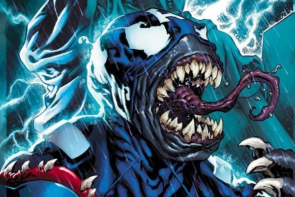Captain america Venom