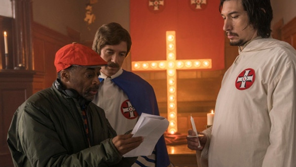 Blackkklansman Spike Lee Adam Driver Topher Grace