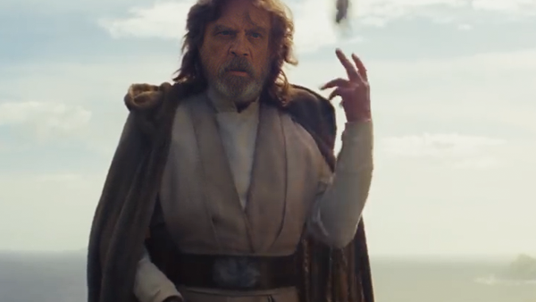 The Last Jedi Luke Throw