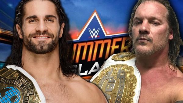 SummerSlam Jericho Seth Rollins