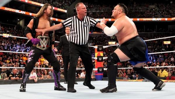 AJ Styles Samoa Joe