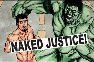 Iron Man And Hulk Naked Justice