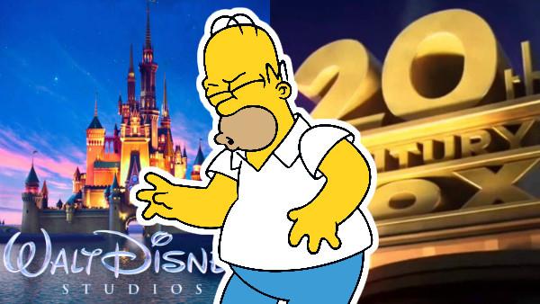 Simpsons Disney Fox