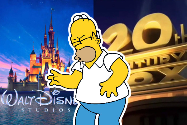 Simpsons Disney Fox