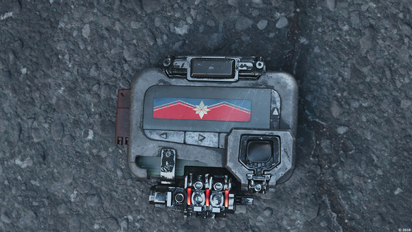 Avengers: Infinity War Captain Marvel Pager