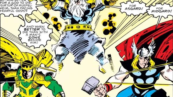 Thor Loki Team-Up