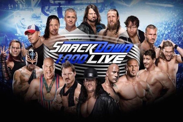 Image result for WWE Smackdown 1000