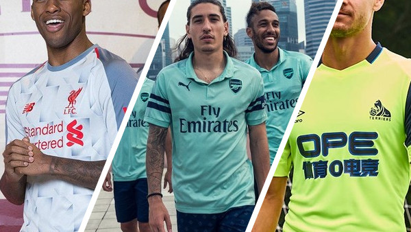 9a9016d06 Premier League 2018-19  Every Third Kit Ranked!