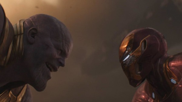 Thanos v Iron Man