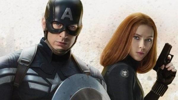 Avengers 4 Captain America Black Widow