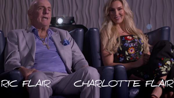 WWE Photo Shoot Ric Charlotte Flair