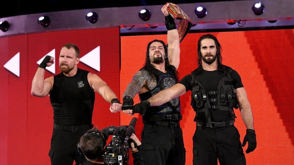 The Shield reunite