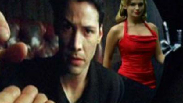 The Matrix Red Dress