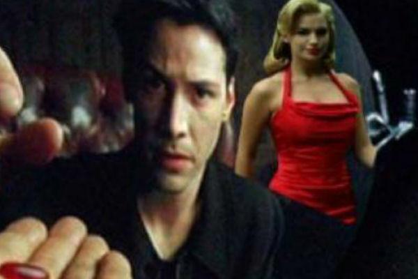 The Matrix Red Dress