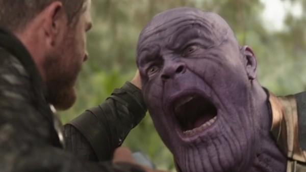 Thanos Chest Axe Thor Infinity War