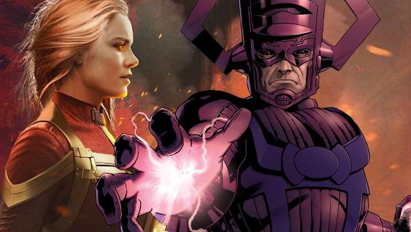 Captain Marvel Vs Galactus