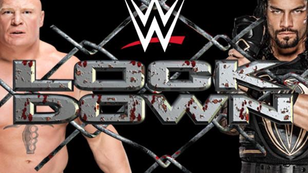 TNA Lock Down Brock Lesnar Roman Reigns