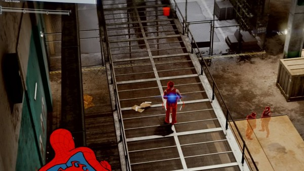 marvel's spider-man ps4 trip mine on enemy